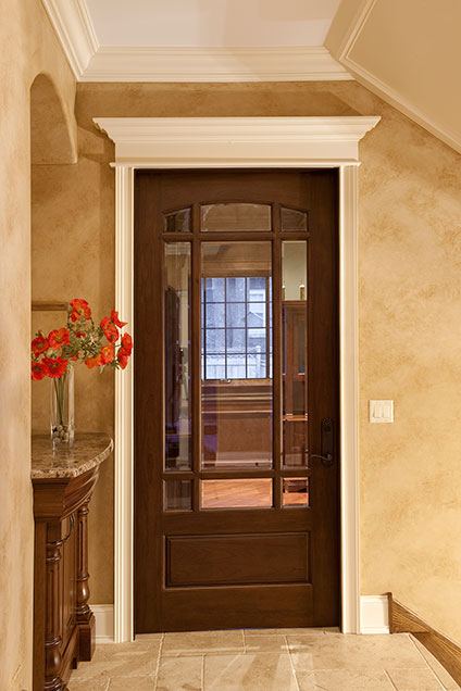 ST-House - Office-Entrance-Door - Globex Developments Custom Homes