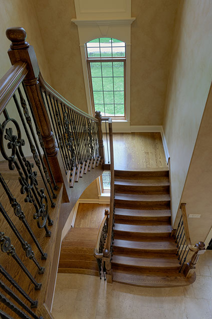ST-House - Stairs-Vertical - Globex Developments Custom Homes