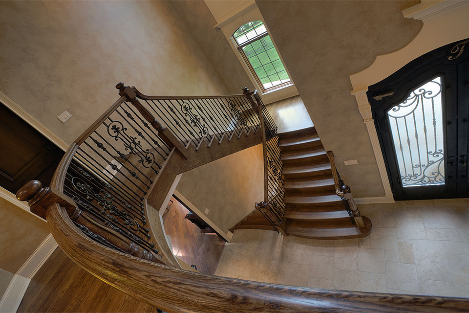 ST-House - Stairs - Globex Developments Custom Homes