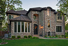 ST-House - Side Elevation - Globex Developments Custom Homes