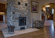 ST-House - Woodburning Stove - Globex Developments Custom Homes