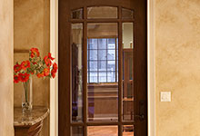 ST-House - Library Doors - Globex Developments Custom Homes