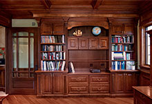 ST-House - Library - Globex Developments Custom Homes