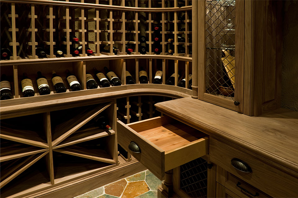 Custom Wine Cellar -  Pleasant Ln., Glenview, Glenview Haus Photo Gallery, Chicago 16