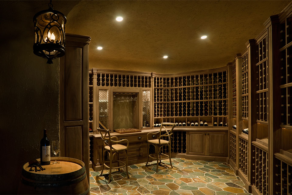 Custom Wine Cellar -  Pleasant Ln., Glenview, Glenview Haus Photo Gallery, Chicago 11