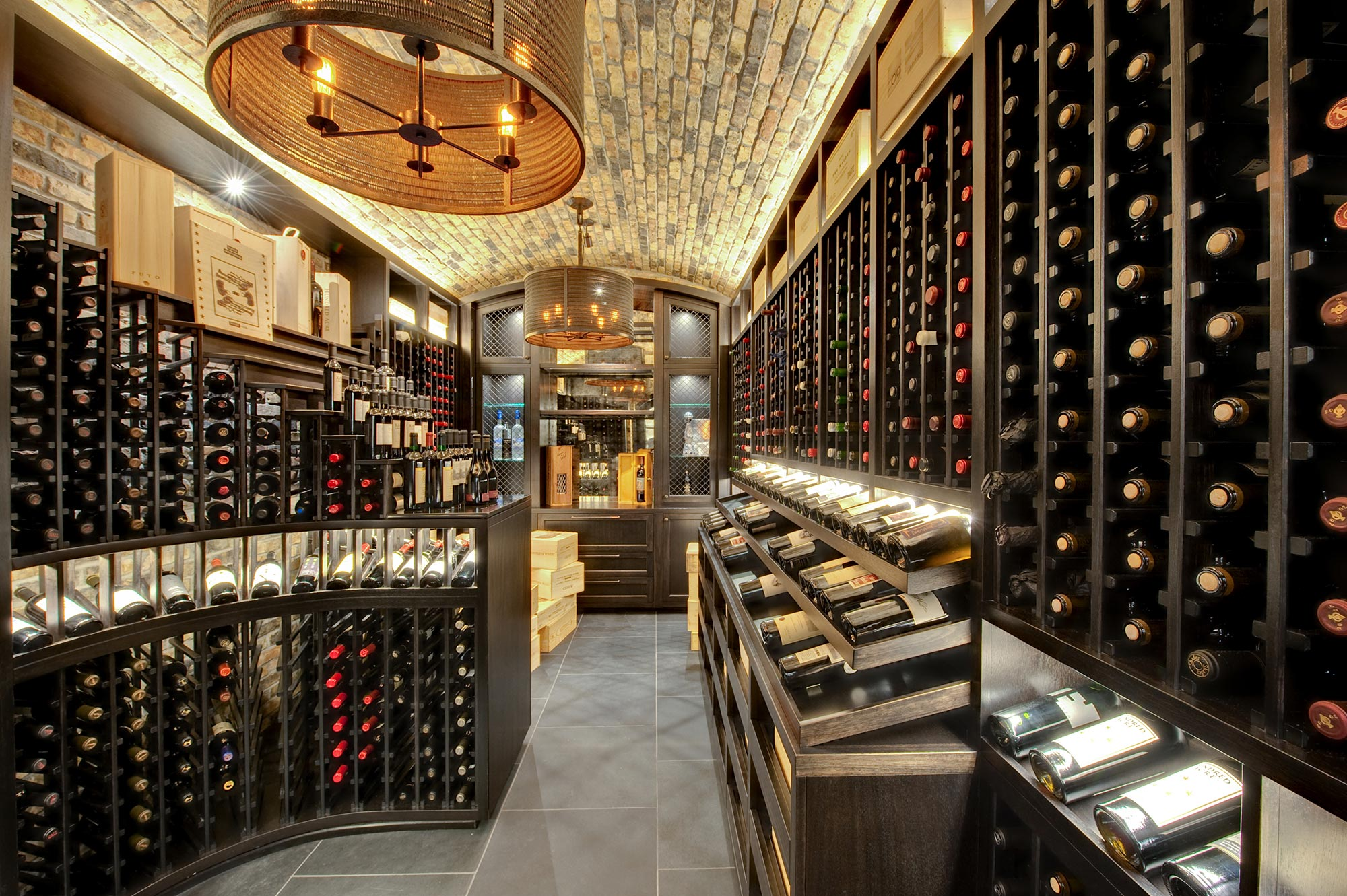 Glenview Haus Chicago Showroom Custom Doors Wine Cellars