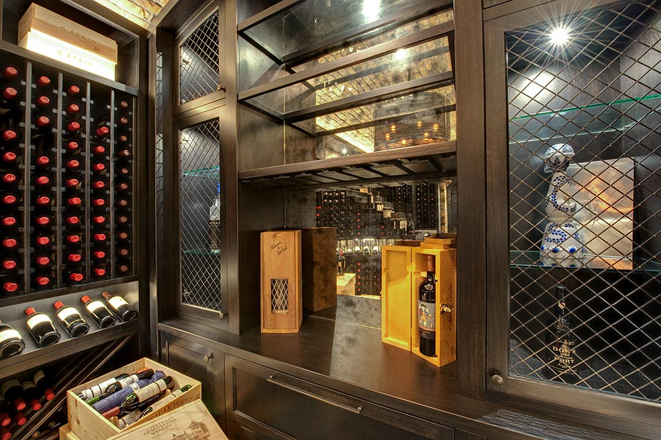 Custom Wine Cellar -  Wagner St., Glenview, Glenview Haus Photo Gallery, Chicago 2