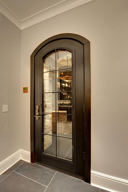 Wine-Cellar-1111-Wagner-Glenview - Main-Cellar-Door - Globex Developments Custom Homes