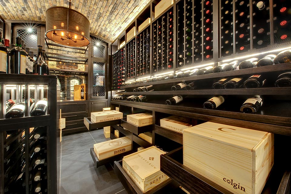 Custom Wine Cellar -  Wagner St., Glenview, Glenview Haus Photo Gallery, Chicago 4