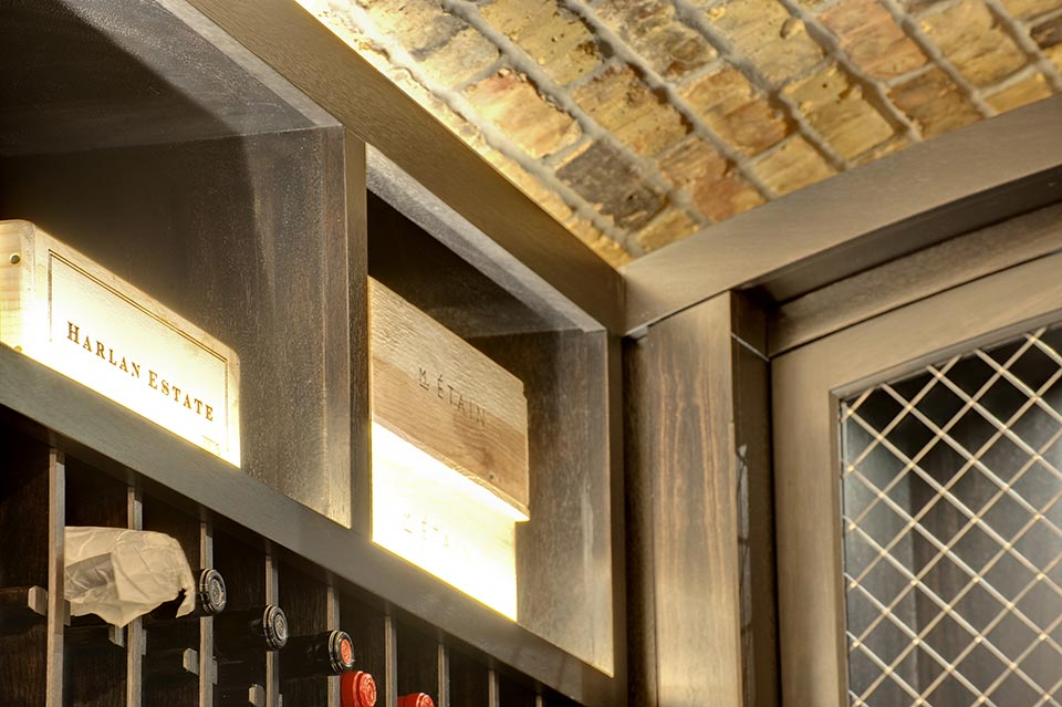 Wine-Cellar-1111-Wagner-Glenview - Main-Cellar-Trim - Globex Developments Custom Homes
