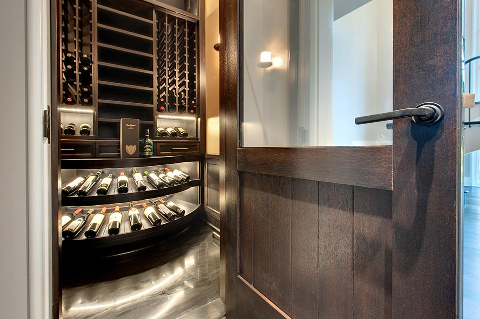 Custom Wine Cellar -  Wagner St., Glenview, Glenview Haus Photo Gallery, Chicago 6