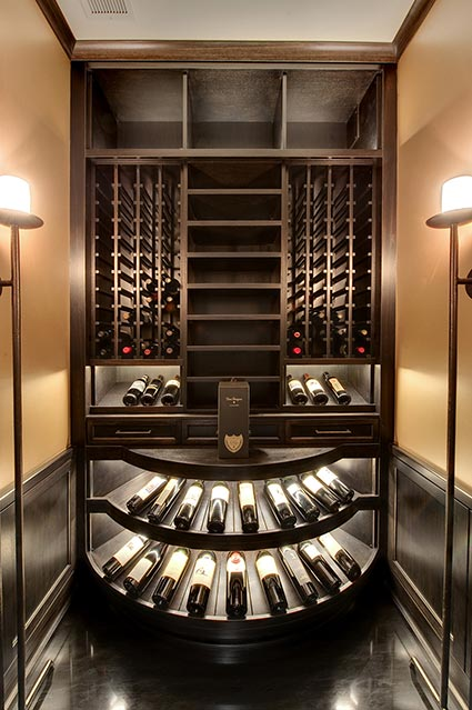 Wine-Cellar-1111-Wagner-Glenview - Upstairs-Winecellar - Globex Developments Custom Homes