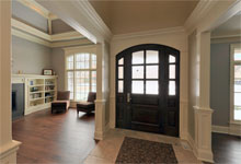 2315-Dewes - Pano-Entrance - Globex Developments Custom Homes