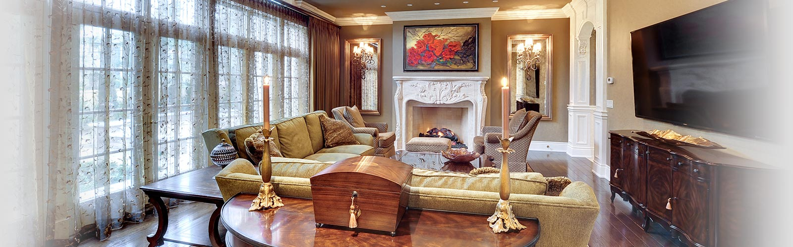 Family Room 3, Custom Home Builder