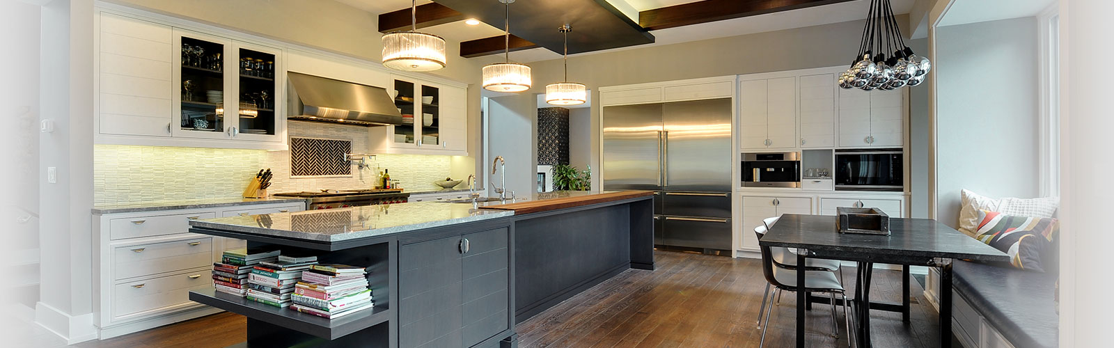 Kitchen, Globex Developments - New Custom Homes Builder